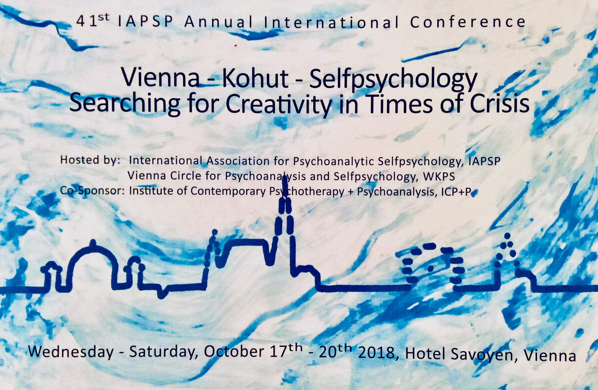 41ma Conferenza Internazionale Annuale dell'Associazione Internazionale per la Psicologia Psicoanalitica del Sé (IAPSP)